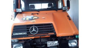 Unimog U90 (Φορτηγό Καρότσα)