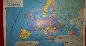 'Έντυπος Χάρτης Ευρώπης