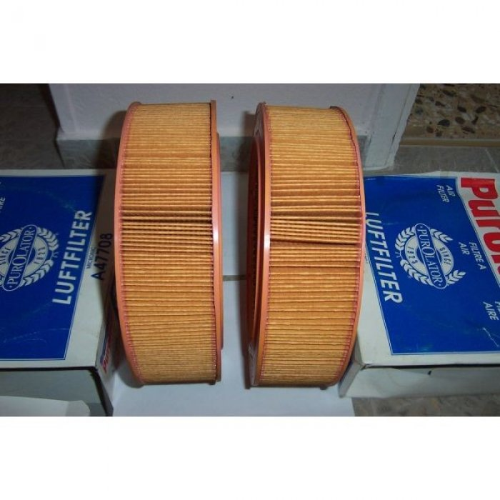 PUROLATOR A 47708 AIR FILTER-MERCEDES W123 DIESEL-T1-T2-601-410 - 2 ΦΙΛΤΡΑ ΑΕΡΟΣ