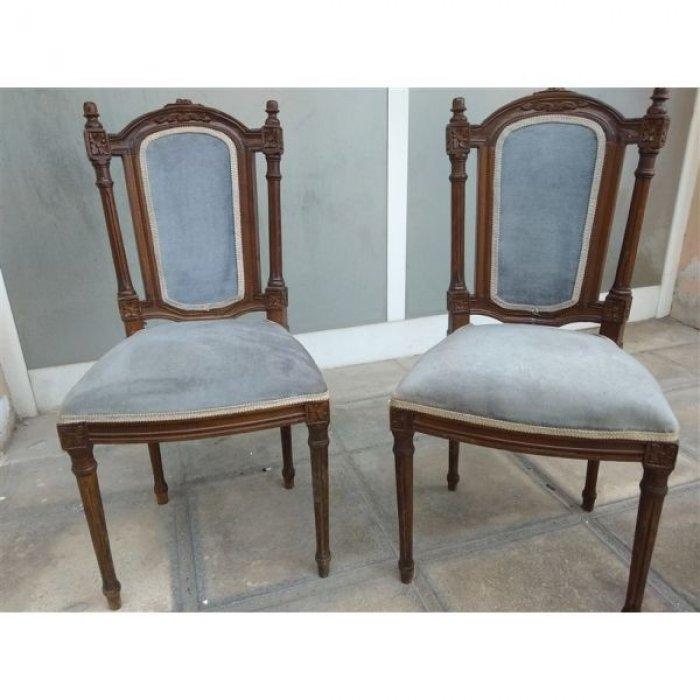 Δυο καρέκλες σκαλιστές αντίκα