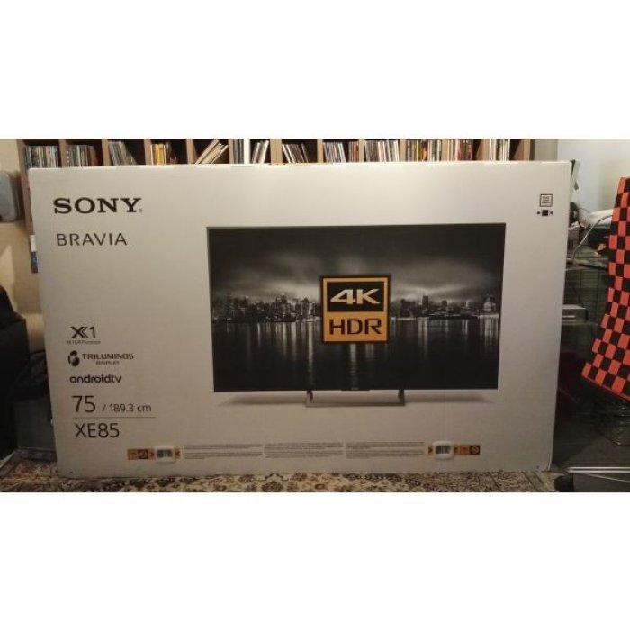 Τηλεόραση Sony LED TV KD75 XF8596 ΒΑΕΡ 4 Κ SMART