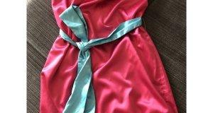 Φόρεμα killah φούξια με Aqua ζώνη  Μέγεθος S