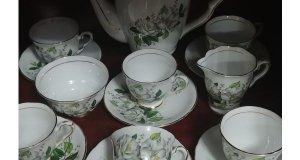 Σερβίτσιο του καφέ Αγγλίας Royal Stafford Camellia