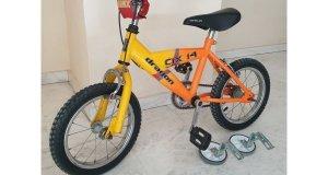 Πωλείται παιδικό ποδήλατο BMX Dragon CIX14 σε καλή κατάσταση, μαζί με τις βοηθητικές ρόδες και 3 μανέτες