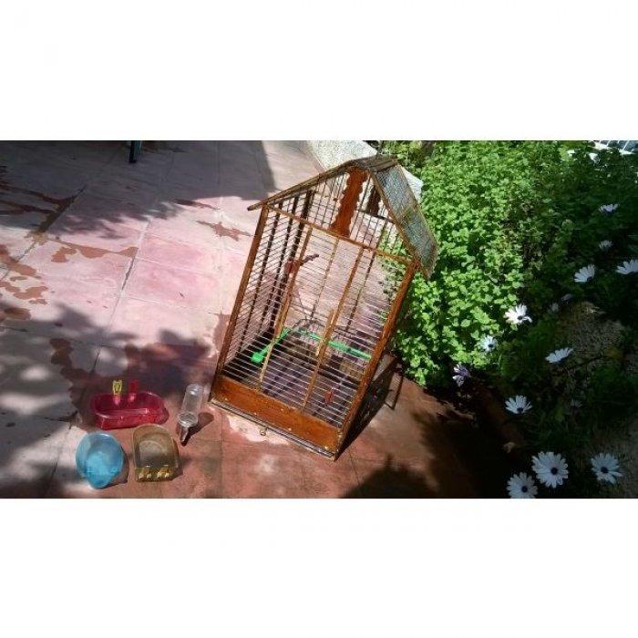 Κλουβί ξύλινο για παπαγάλο