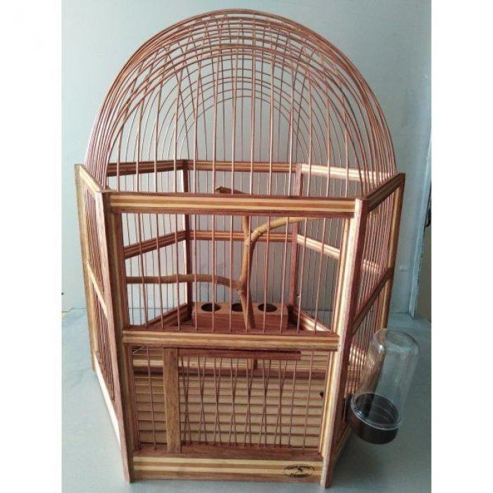 Χειροποίητο ξύλινο κλουβί
