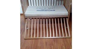 Κρεβάτι μωρού mothercare με στρώμα cocomat