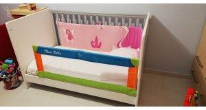 CasaBaby Κούνια - Βρεφικό Κρεβάτι Flipper Μετατρεπόμενο σε παιδικό + Στρώμα