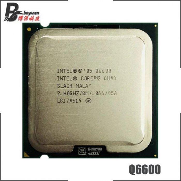 Intel Core 2 Quad Q6600 2.4 GHz Quad-Core CPU Processor 8M 95W LGA 775