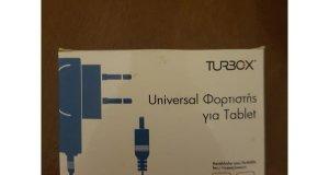 Φορτιστής TURBO-X για tablet