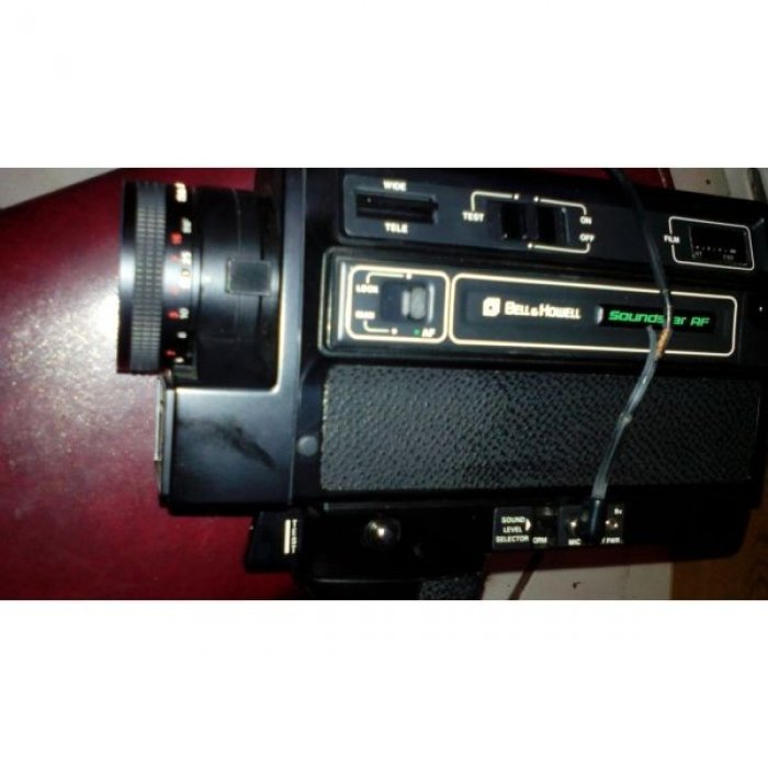 Bell & howell super8 suround vintage & canon 514xls super8