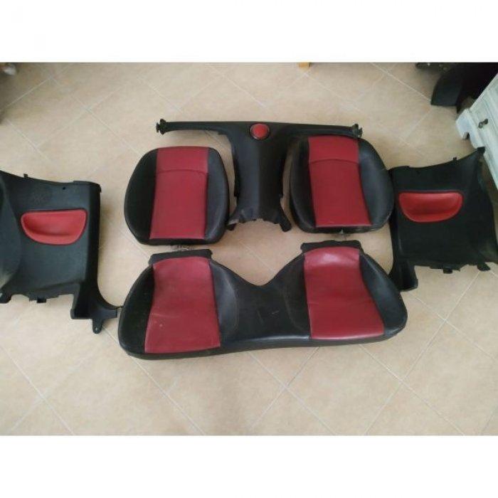 Πωλουνται ταπετσαριες και καθισματα Peugeot 206cc