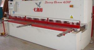 Ψαλιδι μηχανουργείου καινούργιο αχρησιμοποίητο μάρκας CMU για 6/32 mm με το εγχειρίδιο λειτουργίας του